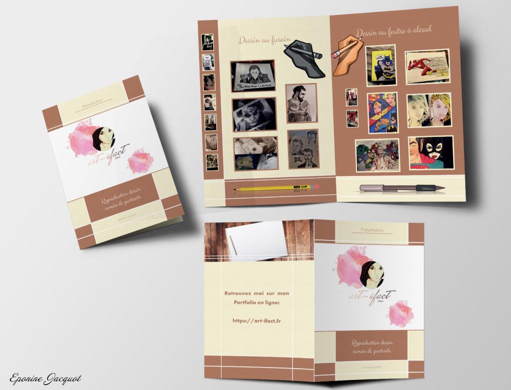 Graphisme - Oise - Portfolio - Brochures
